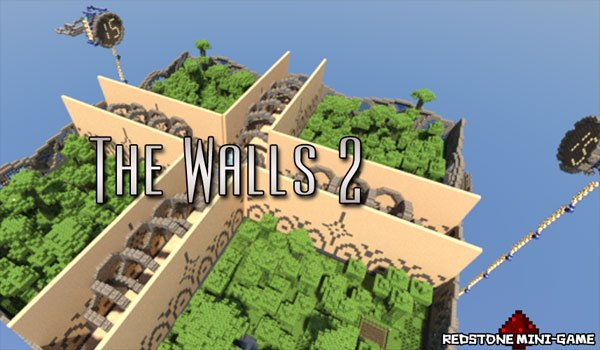 The Walls 2 Map for Minecraft 1.3.2