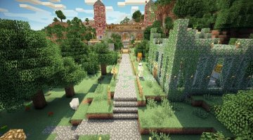 Mansion Adventure Map for Minecraft 1.9
