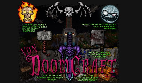 vonDoomCraft Texture Pack for Minecraft 1.6.2