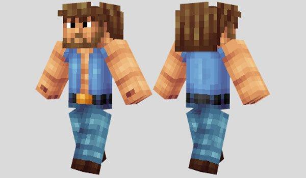 Chuck Norris Skin for Minecraft