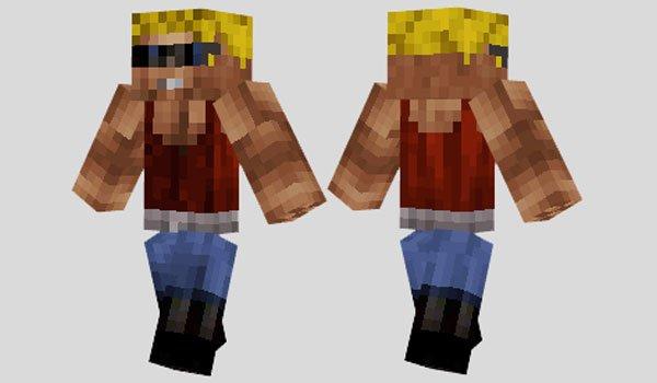 Duke Nukem Skin for Minecraft