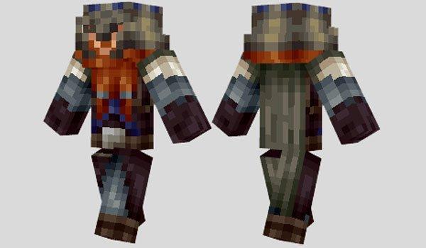 Gimli Skin for Minecraft