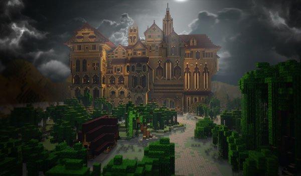 Herobrine's Mansion Map for Minecraft 1.7.2