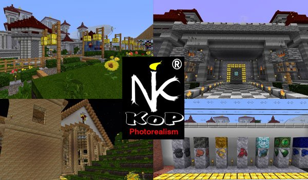 KoP Photo Realism Texture Pack for Minecraft 1.8