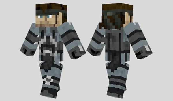 Solid Snake Skin for Minecraft