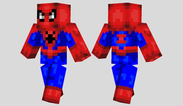Spiderman Skin for Minecraft