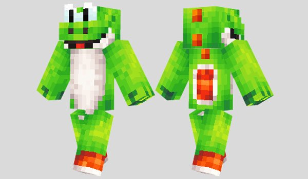 Yoshi Skin for Minecraft