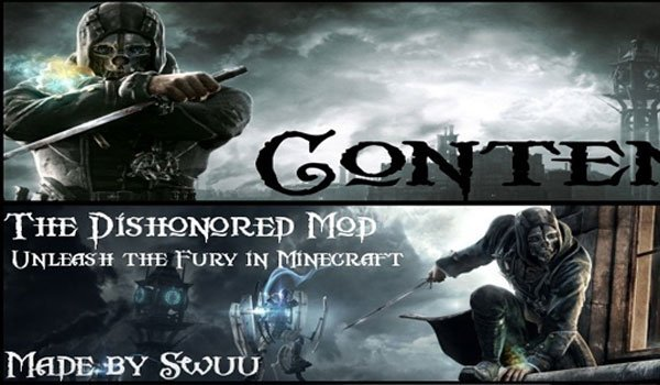 Dishonored Mod for Minecraft 1.4.5
