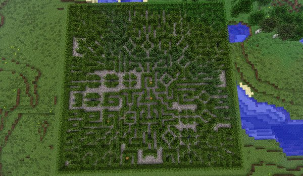 Dynamic Mazes Mod for Minecraft 1.7.2 and 1.7.10