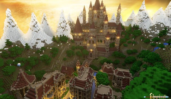Wrath of the Fallen Map for Minecraft 1.4.5