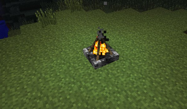 Campfire Mod for Minecraft 1.6.2 and 1.5.2