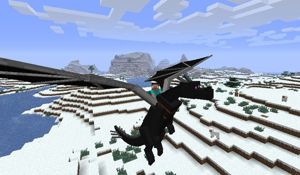 Dragon Mounts Mod for Minecraft 1.7.2 and 1.6.4