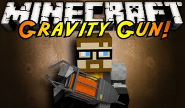 Gravity Gun Mod for Minecraft 1.6.2 and 1.5.2