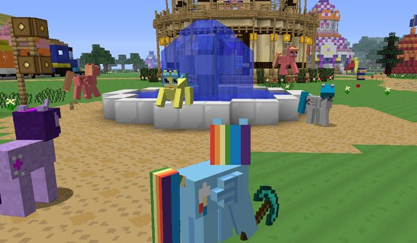 Mine Little Pony Mod for Minecraft 1.5.2