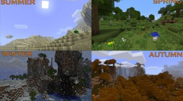The Seasons Mod for Minecraft 1.6.2 and 1.6.4