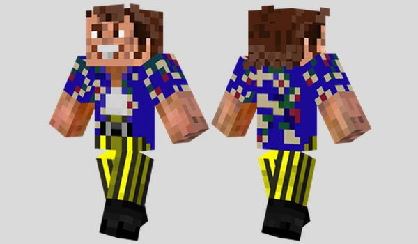 Ace Ventura Skin for Minecraft