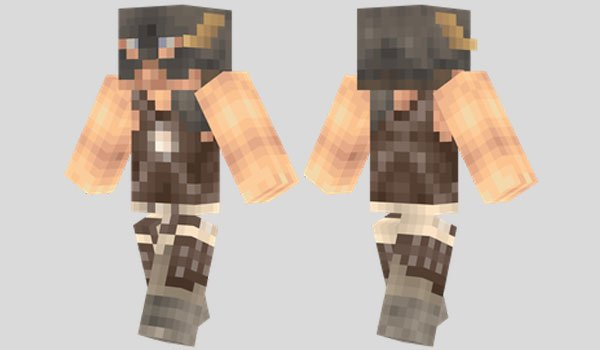 Dovahkiin Skin for Minecraft
