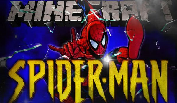 Spider Man Mod for Minecraft 1.7.2 and 1.6.4
