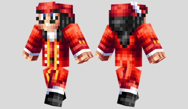 Captain Hook Skin for Minecraft