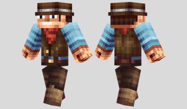 Cowboy Skin for Minecraft