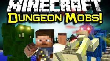 Dungeon Mobs Mod for Minecraft 1.12.2