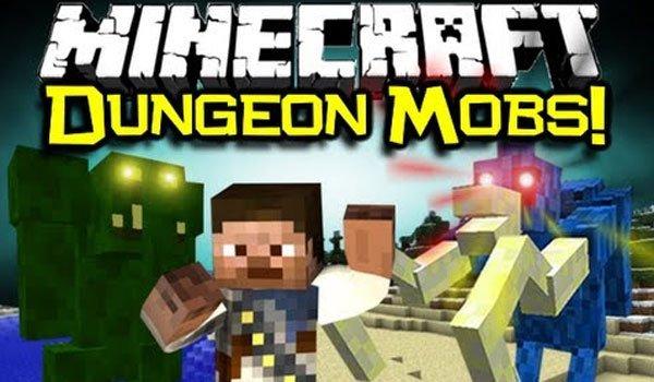 Dungeon Mobs Mod for Minecraft 1.7.10