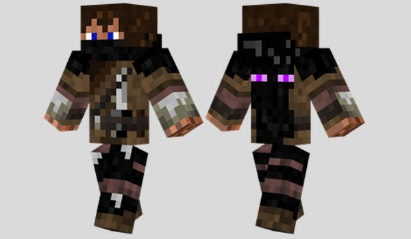 Enderman Hunter Skin for Minecraft