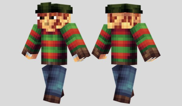 Freddy Krueger Skin for Minecraft