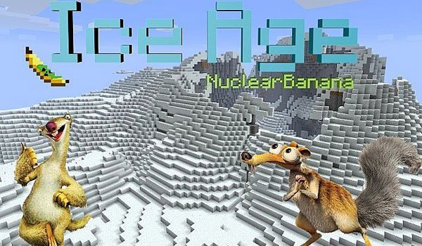 IceAge Dimension Mod for Minecraft 1.2.5