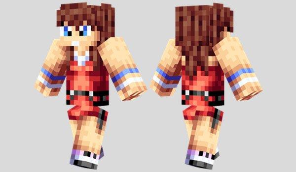 Kairi Skin for Minecraft