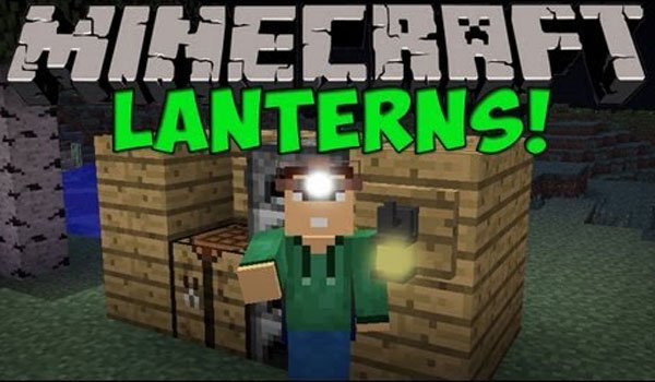 Lanterns Mod for Minecraft 1.6.2 and 1.5.2