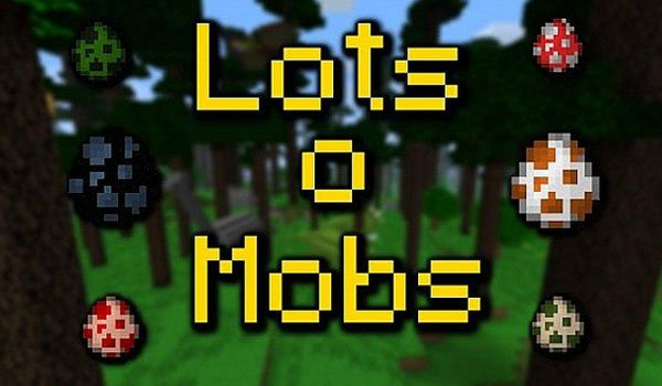 LotsOMobs Mod for Minecraft 1.7.2 and 1.7.10