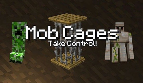 Mob Cages Mod for Minecraft 1.4.7