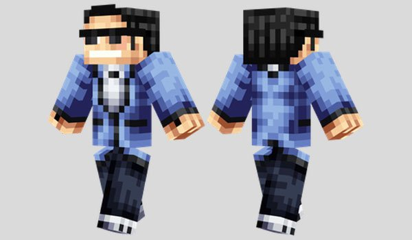 Psy Skin for Minecraft