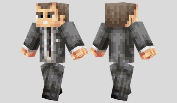 James Bond Skyfall Skin for Minecraft