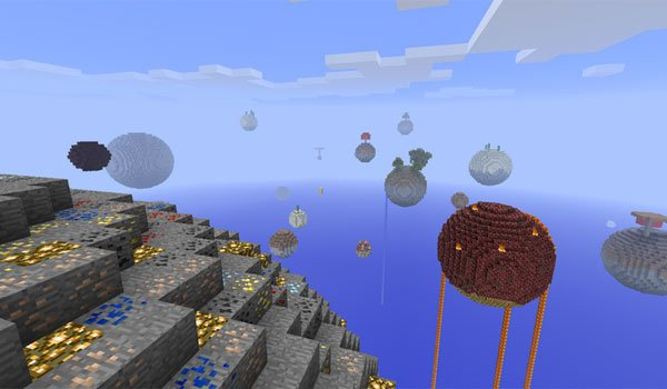 Sky Islands Map for Minecraft 1.5.1