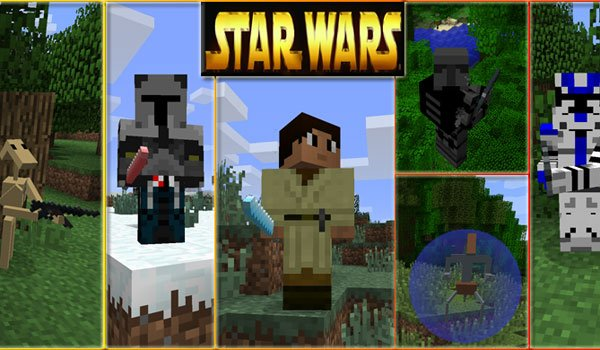 Star Wars Mod for Minecraft 1.6.4