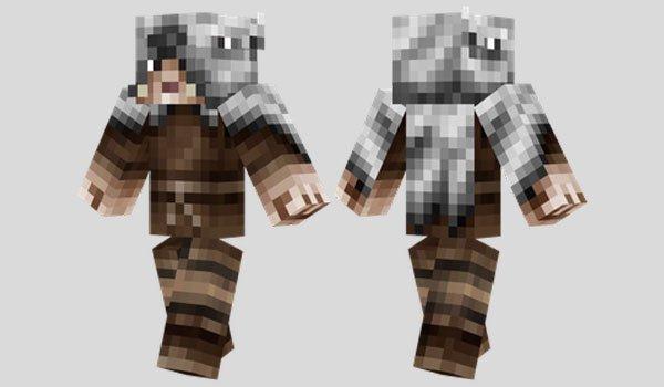 Winter Traveler Skin for Minecraft