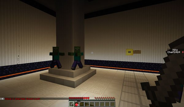 Zombie Arena 3 Map for Minecraft 1.5.1