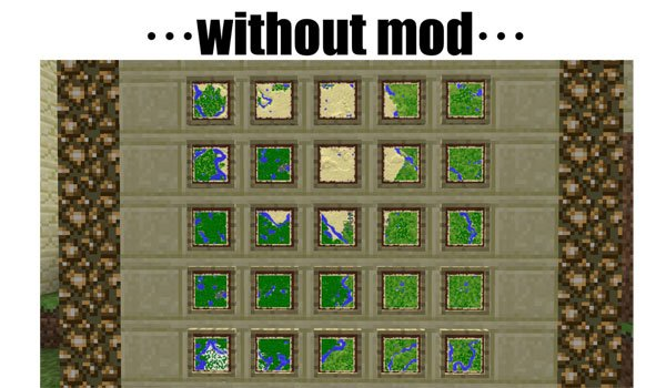 Cartographer Mod for Minecraft 1.6.2 and 1.6.4