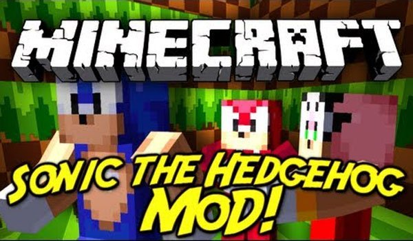 Sonic The Hedgehog Mod for Minecraft 1.6.4