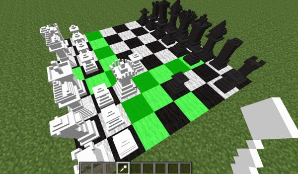 MineChess Mod for Minecraft 1.7.2 and 1.6.4