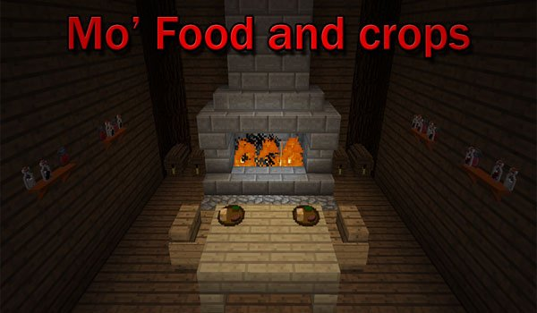 Mo' Food and Crops Mod for Minecraft 1.5.2