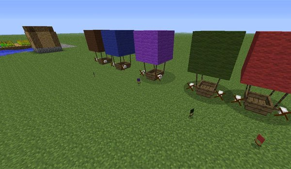 The Airship Mod for Minecraft 1.6.2 and 1.5.2