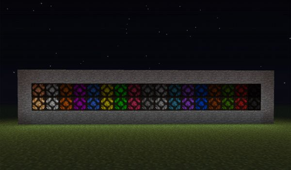 Tinted Lamps Mod for Minecraft 1.5.2
