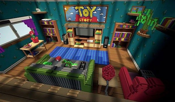 Toy Story 2 Adventure Map for Minecraft 1.6.2