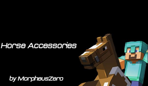Horse Accessories Mod for Minecraft 1.6.2 and 1.6.4