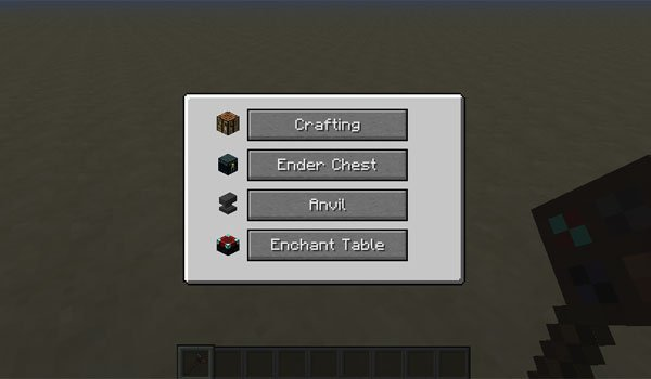 image where you can see the new interface for simple portables 1.7.2 and 1.7.10.