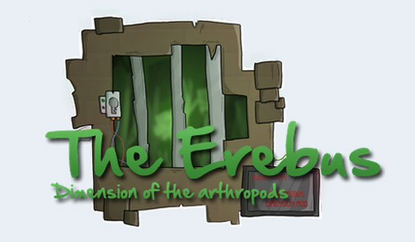 The Erebus Dimension of the Arthropods Mod for Minecraft 1.7.10