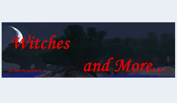 Witches and More Mod for Minecraft 1.6.4